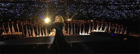 麦当娜2012超级碗中场超级秀表演