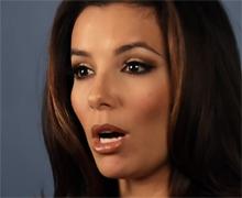 绝望主妇伊娃朗格利亚拍视频为奥巴马拉票