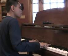 15岁天才盲人钢琴少年Kuha'o:歌剧魅影