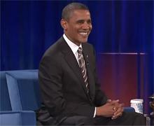 奥巴马:八年前我还在还贷款,八年后我成了美国总统