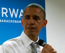 奥巴马致竞选团队动情流泪:我为你们骄傲