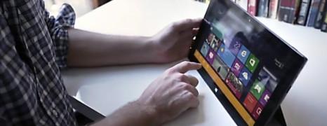 微软Surface平板上手测评