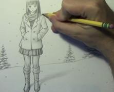 Mark Crilley漫画教程#104:美女皮靴画法