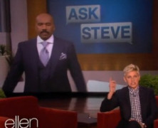 Ellen Show艾伦经典双簧恶搞Steve Harvey