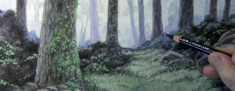 Mark Crilley漫画教程108全彩丛林场景(强烈推荐)