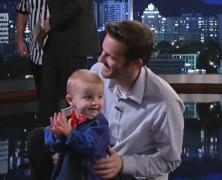 Jimmy Kimmel PK 两岁篮球神童